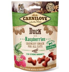 Carnilove Carnilove (kat) Crunchy Eend met Framboos 50 gram