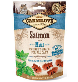 Carnilove Carnilove (kat) Crunchy Zalm met Mint 50 gram
