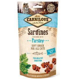 Carnilove Carnilove (kat) Soft Sardine met Peterselie 50 gram