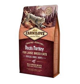 Carnilove Carnilove Duck & Turkey Large Cat 2 kg