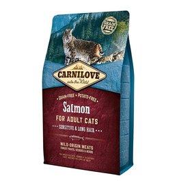 Carnilove Carnilove Salmon Sensitive & Long hair 400 gr