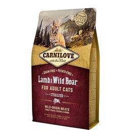 Carnilove Carnilove Lamb & Wild Boar Sterilised 400 gr