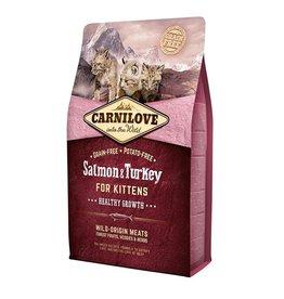 Carnilove Carnilove Salmon & Turkey Kitten 400 gr