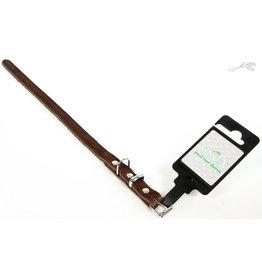 Tijssen Halsband Vetleer Bruin 35mm x 45cm
