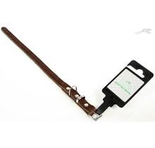 Halsband Vetleer Bruin 18mm x 50cm