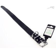 Halsband Vetleer Zwart 35mm x 60cm