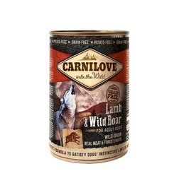 Carnilove Carnilove Can Lamb & Wild Boar  400 gram