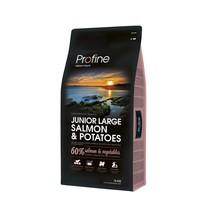 Junior Large Breed Salmon & Potatoes 15 kg