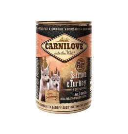 Carnilove Carnilove Can Puppy Salmon & Turkey 400 gram