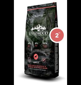 Riverwood Riverwood Adult Reindeer, Venision and Wild Boar 2kg