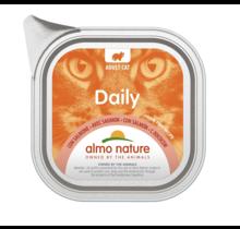 Almo Nature Daily met Zalm 100 gram
