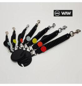 WAW WAW Easy Walk Shockabsorber Zwart L 16-25kg