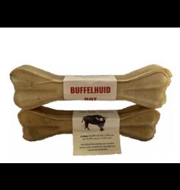 Lamphen Buffelhuid geperste kluif 6 inch (15 cm)