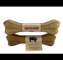 Buffelhuid geperste kluif 10 inch (25 cm)