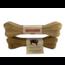 Lamphen Buffelhuid geperste kluif 10 inch (25 cm)