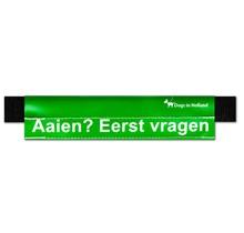 Medium groene waarschuwingssleeve