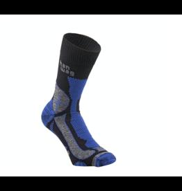 Hanwag Hanwag Trek-Merino Sock Black/Royal Blue