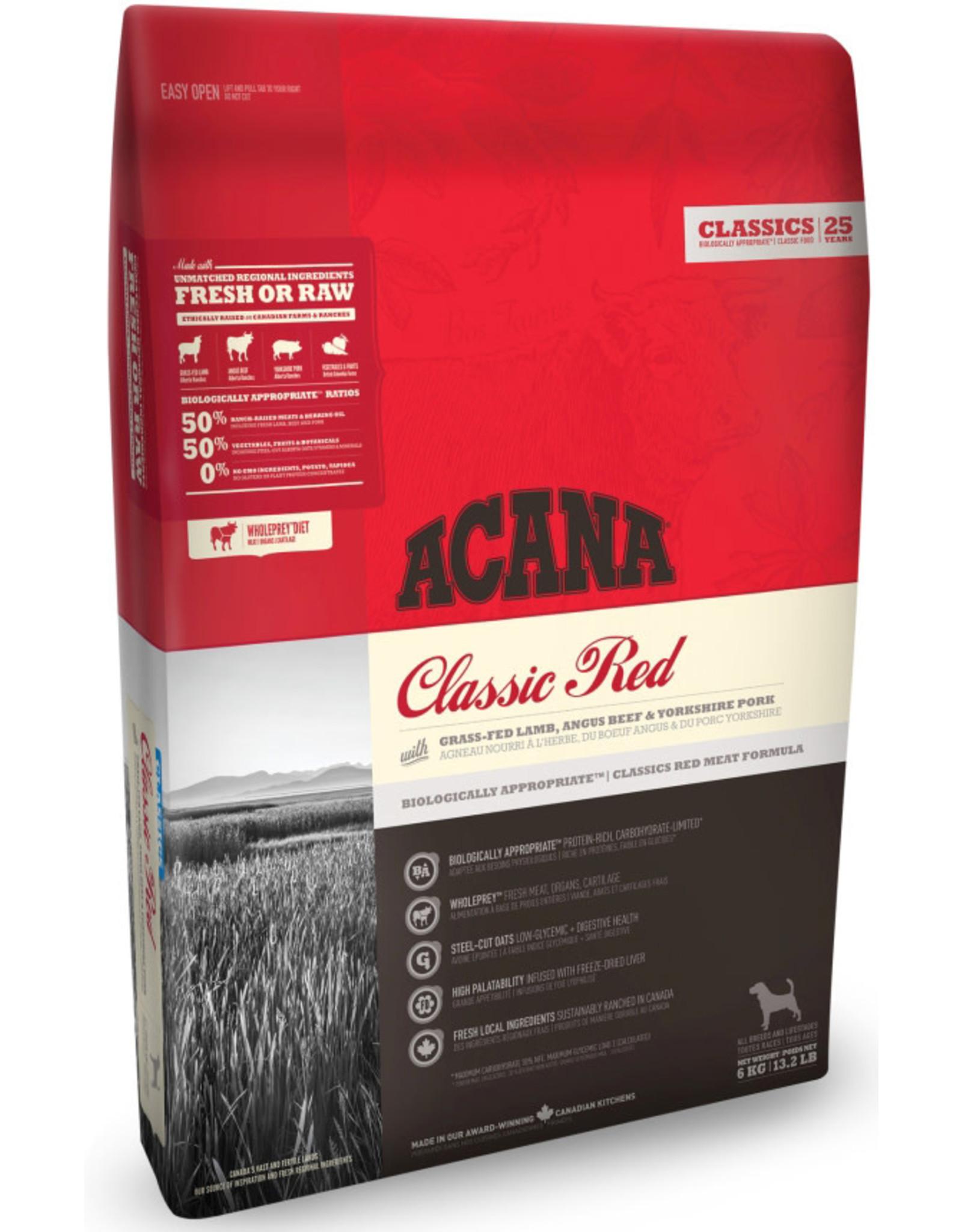 Acana Acana CLASSICS Classic Red 6 kg