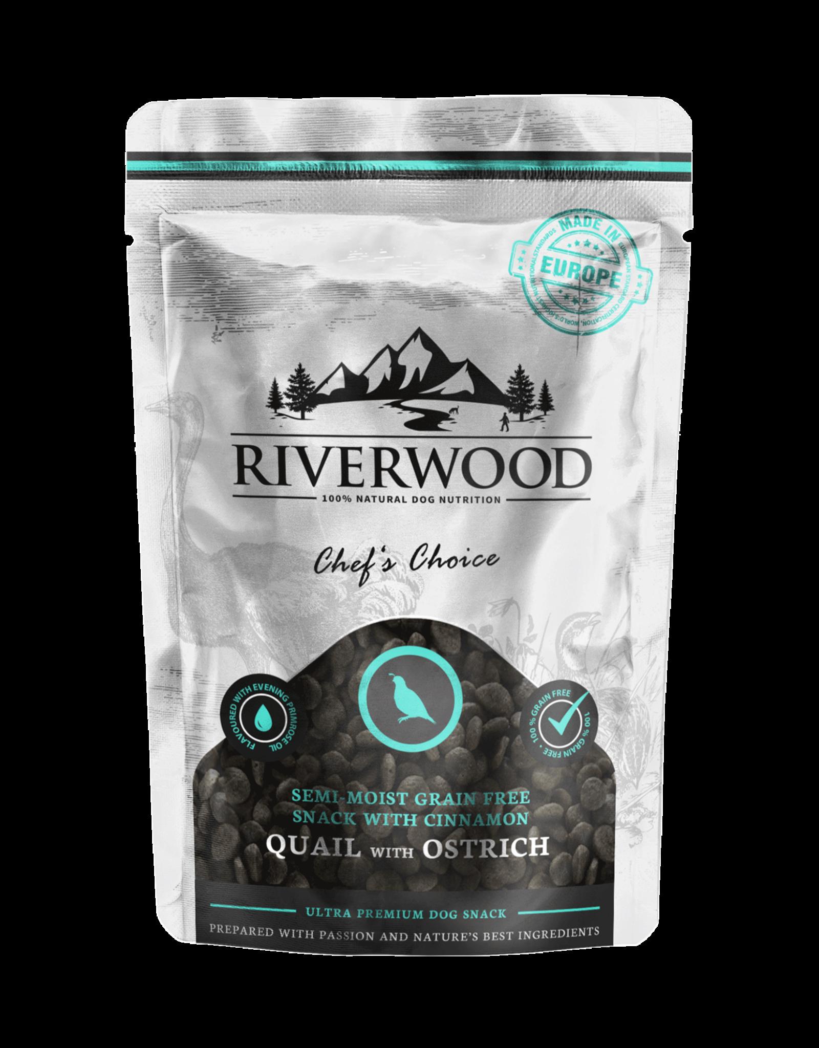 Riverwood Riverwood hondensnack Semi Moist Grainfree Chef's Choice 200 gram