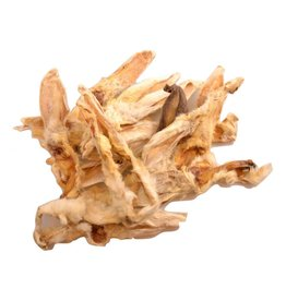 Carnis Konijnenoren gedroogd met vacht (150gr)