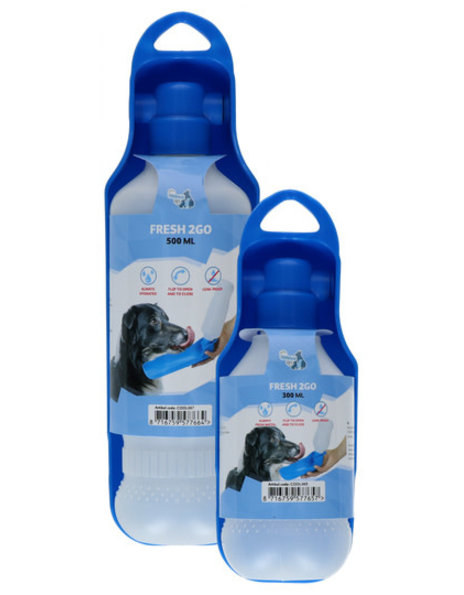 AFP Coolpets 2GO Drinkfles Hond 500 ml