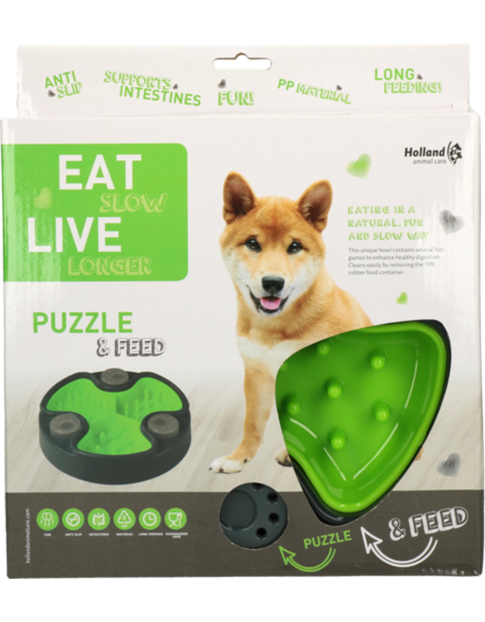 Eat Slow Live Longer Puzzle and Feed Green (anti-schrok-bak)