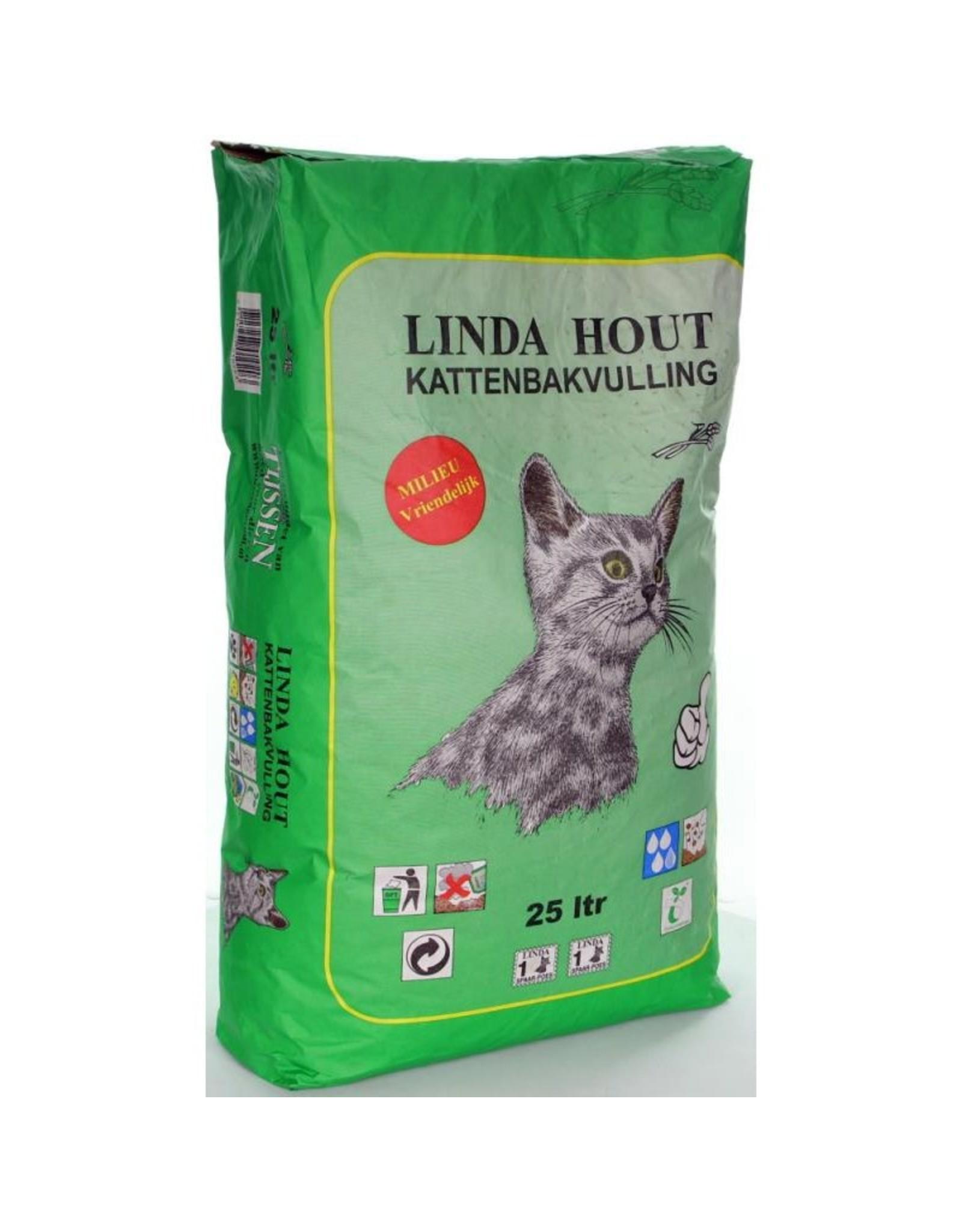 Linda Linda Kattenbakvulling Hout 25 liter
