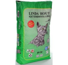 Linda Kattenbakvulling Hout 25 liter