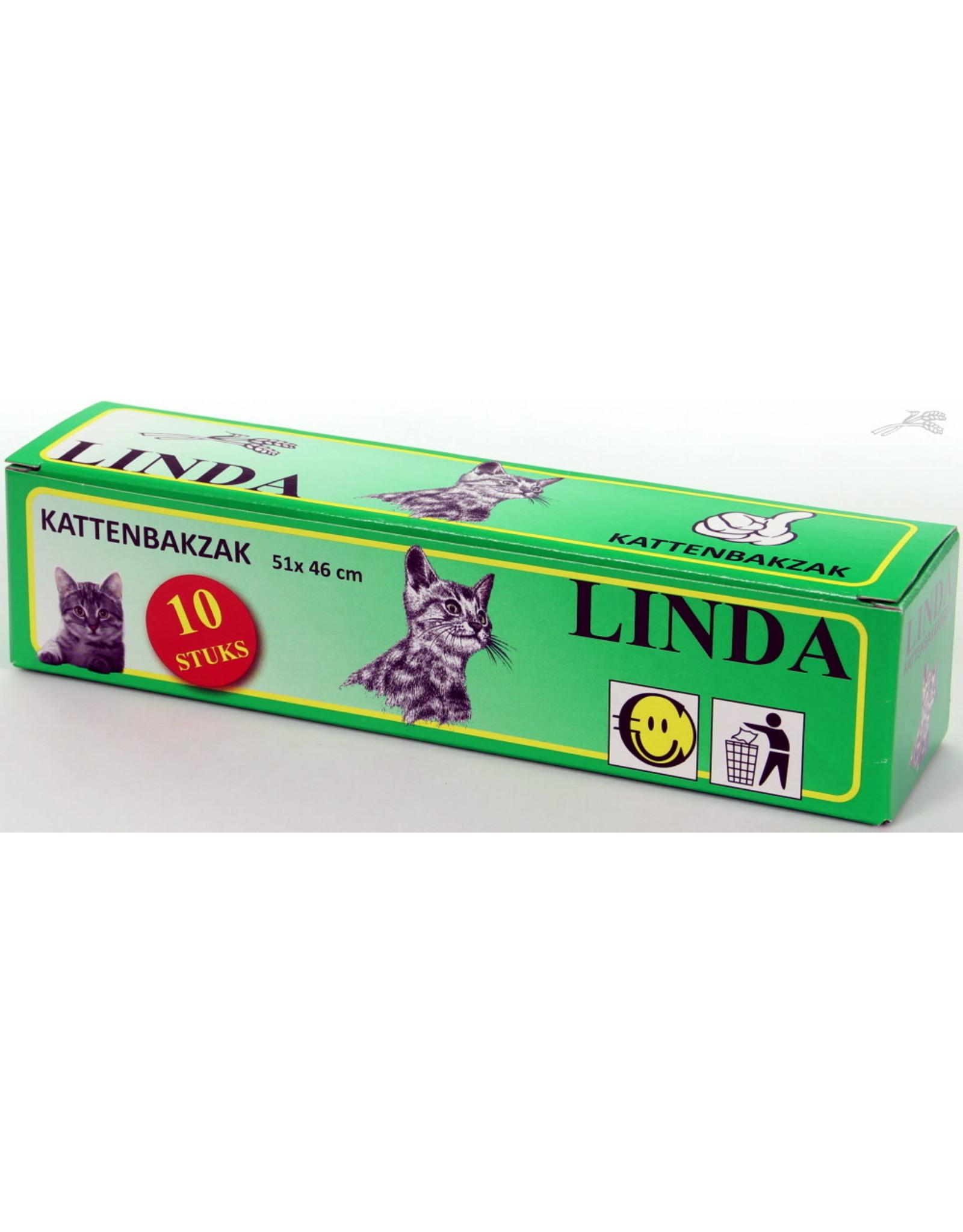 Linda Linda Kattenbakzak 51x46 cm (10st.)