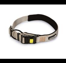 Beeztees hondenhalsband Parinca Premium grijs 30-35 x 2 cm