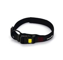 Beeztees hondenhalsband Parinca Premium zwart 35-40 x 2 cm