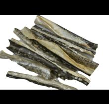 Zalmhuid repen gedroogd (150gr)