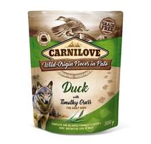 Carnilove Paté (pouch) Duck  with Timothy Grass 300g