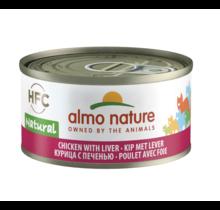 Kat HFC Natural Kip en Lever 70 gr