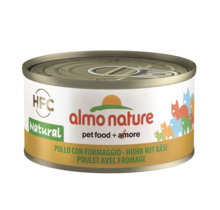 Blikvoeding Kat HFC Natural Tonijn met Ansjovis 70 gr