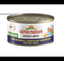 Almo Nature Kat HFC Natural Tonijn met Mosselen 70 gr