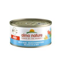 Natural Gemengde Zeevis 70 gram