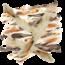Lamphen Konijnenoren gedroogd met vacht (1000gr)