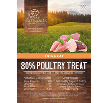 Carnipets Grain Free Treat (trainer) Poultry 100 gram