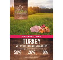 Carnipets Grain Free Adult Large Breed Turkey 12 kg