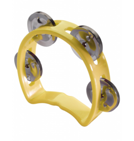 Stagg mini tambourine yellow