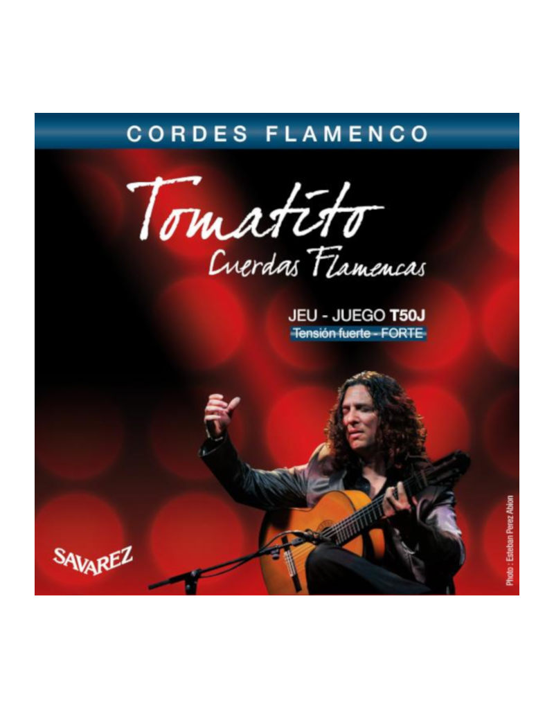 Savarez T50R Tomatito flamenco strings high tension