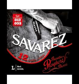 Savarez 12-string acoustic guitar strings 012-053