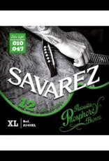 Savarez A240XL 12-string extra light acoustic guitar strings 010-047