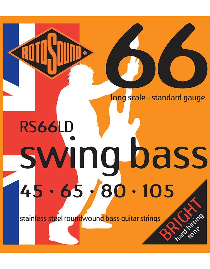 Rotosound RS66LD Standard gauge bass guitar strings