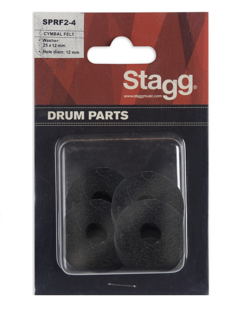 Stagg SPRF2-4 felt washer 25mm 4-pack