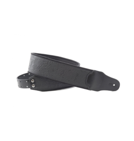 RightOn! Sandokan black guitar strap