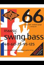 Rotosound RS665LC Medium 5-snarig basgitaar snaren
