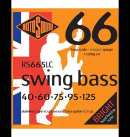 Rotosound Swing bass 5-string 40-125