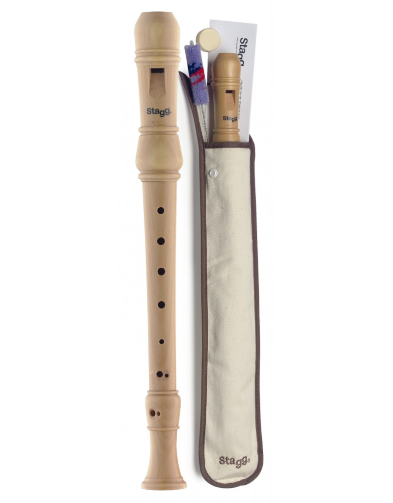 Stagg REC3-GER Wooden recorder